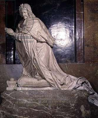 The Tomb of Cardinal Guillaume Dubois (1656-1723) 1705 (marble)