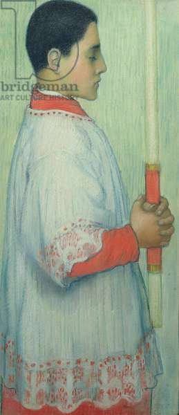 The Choirboy, 1889-90 (pastel on paper)