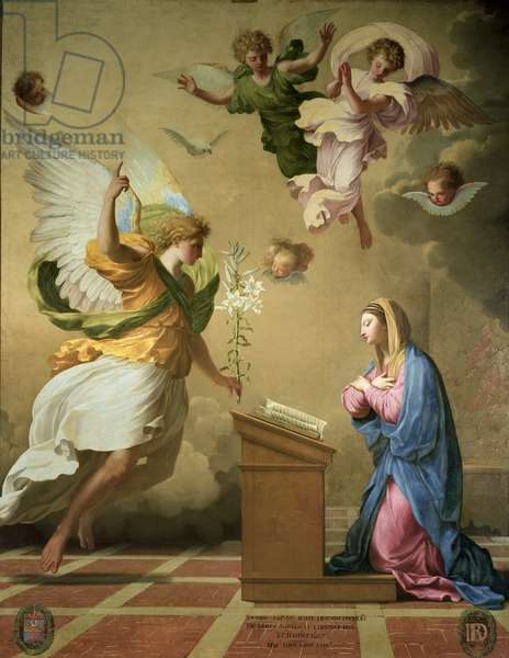 The Annunciation, before 1652 (oil on canvas)