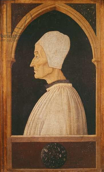 Portrait of Saint Lawrence Giustiniani (1381-1455) (oil on panel)