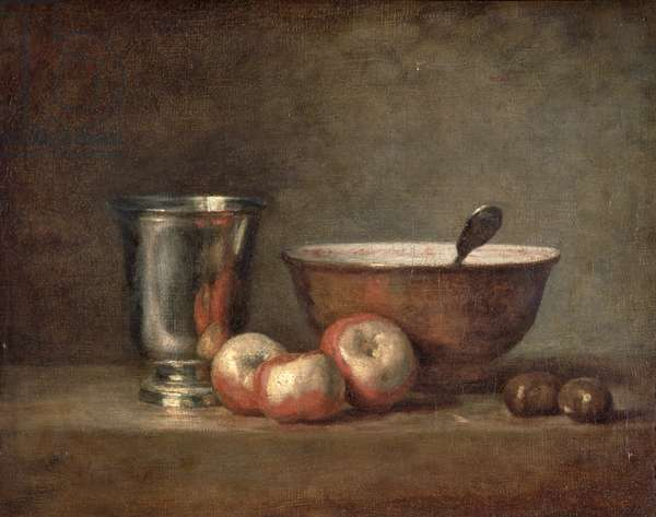The Silver Goblet, c.1768 (oil on canvas)