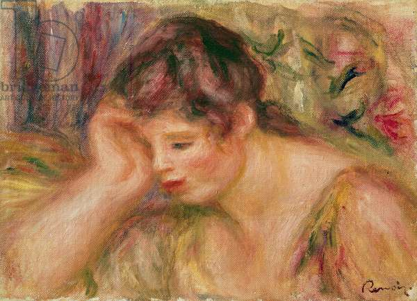 Woman Leaning, c.1917 (oil on canvas)