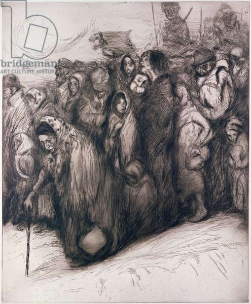Evacuees (engraving)
