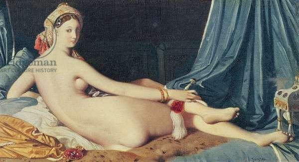 Odalisque, 1814 (oil on canvas)