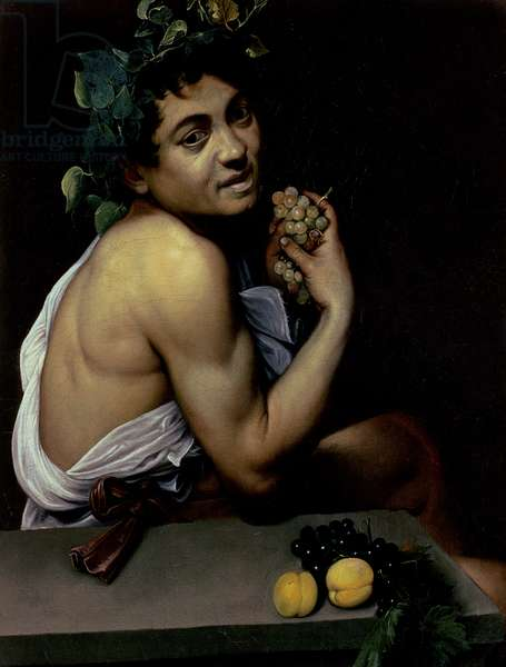 The Sick Bacchus, 1591 (oil on canvas)