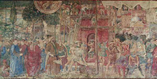 The Tower of Babel, 1468-84 (fresco)