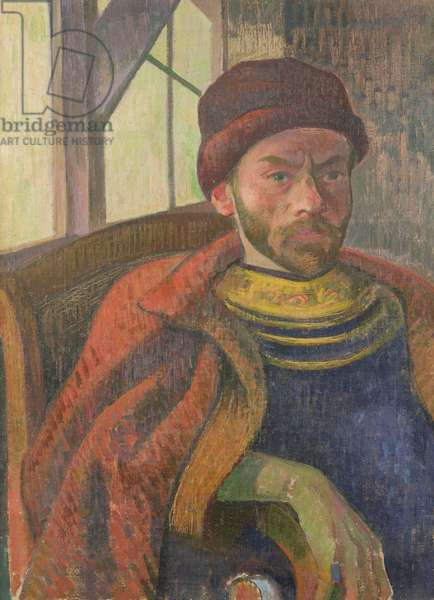 Self Portrait in Breton Costume, c.1889 (oil on canvas)