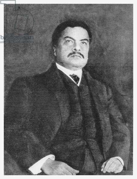 Rubén Darío (litho)