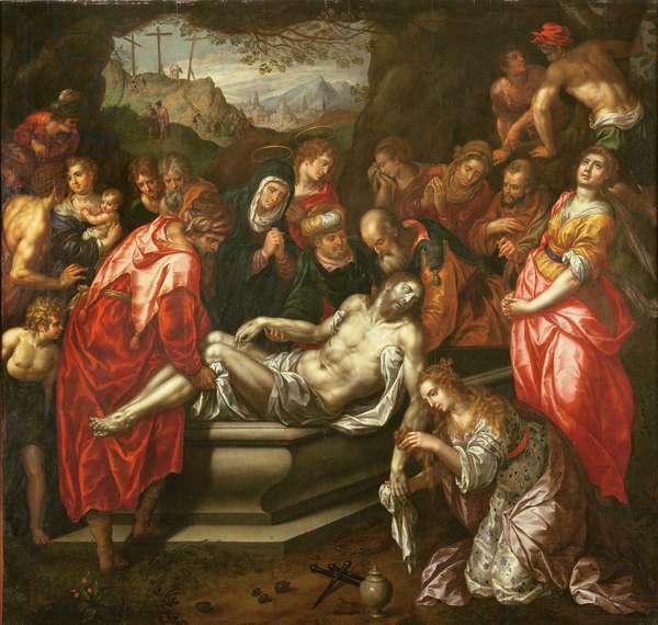 Entombment (oil on canvas)