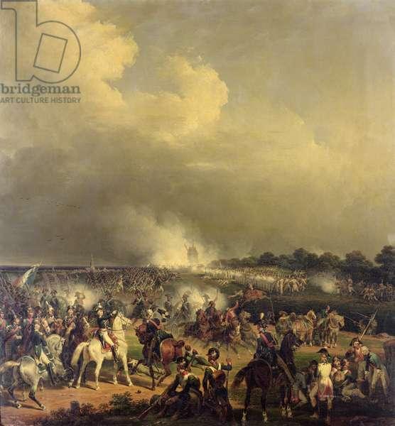 Battle of Boussu, 3rd November 1792, 1845 (oil on canvas)