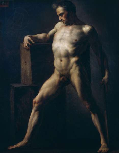 Study of a Man, c.1808-12 (oil on canvas)