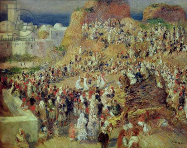 The Mosque, or Arab Festival, 1881 (oil on canvas)