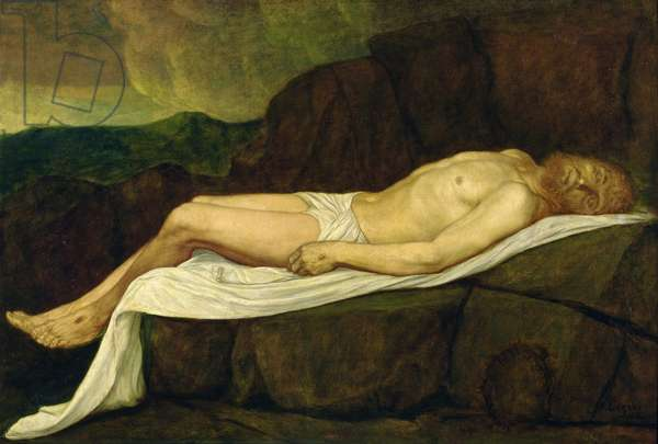 The Dead Christ, 1888 (oil on canvas)