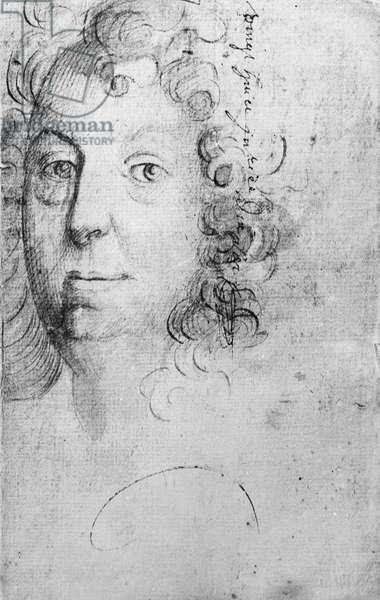 Jean Racine (pencil on paper)