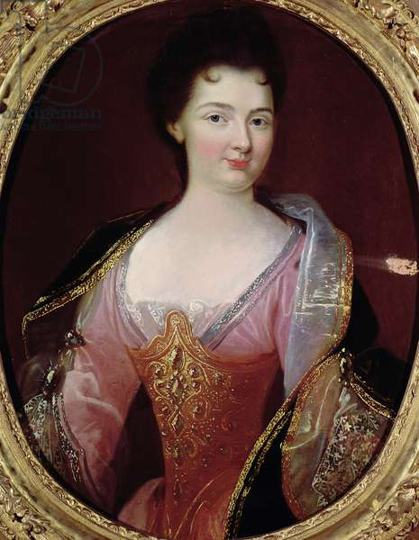 Portrait of Claudine Alexandrine Guerin de Tencin (1682-1749) (oil on canvas)