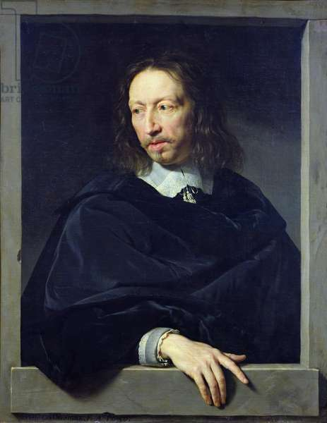 Portrait of a Gentleman, known as Arnaud d'Andilly (1588-1674) 1650 (oil on canvas)