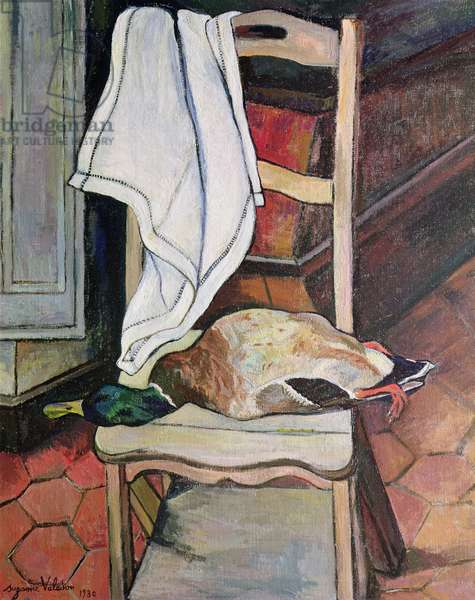 The Duck, 1930 (oil on canvas)