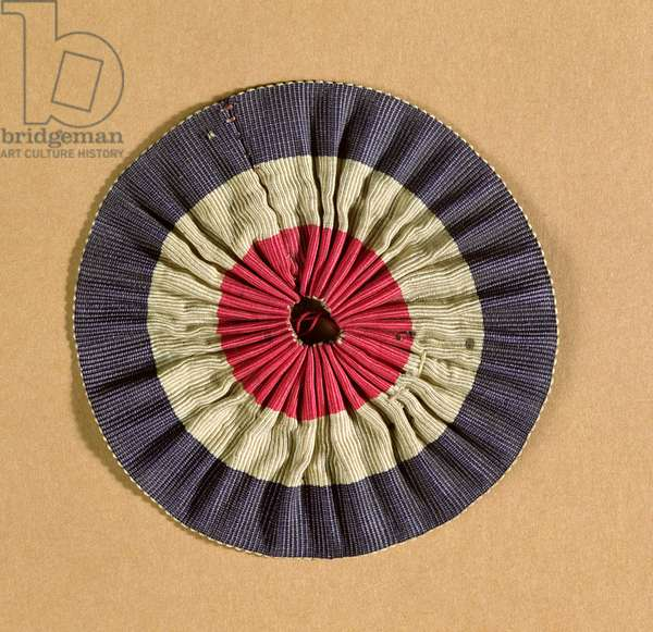 Tricolore rosette (textile)
