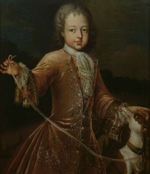 Leopold-Clement (1707-29) Prince of Lorraine (oil on canvas)