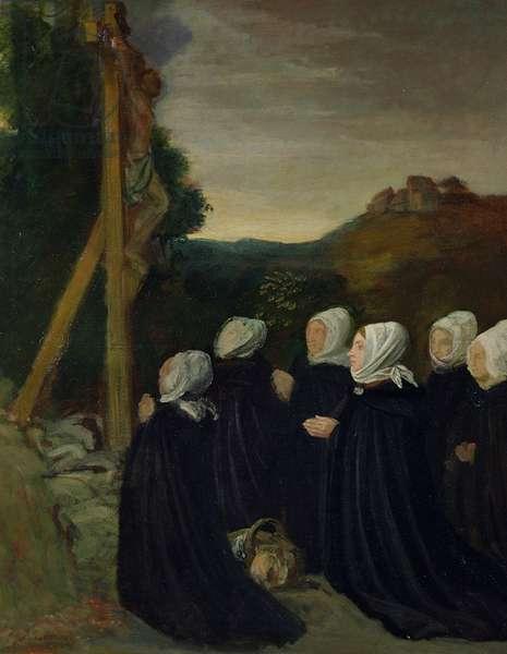 Calvary, 1874 (oil on canvas)