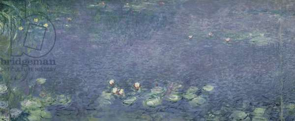 Waterlilies: Morning, 1914-18 (centre left section)