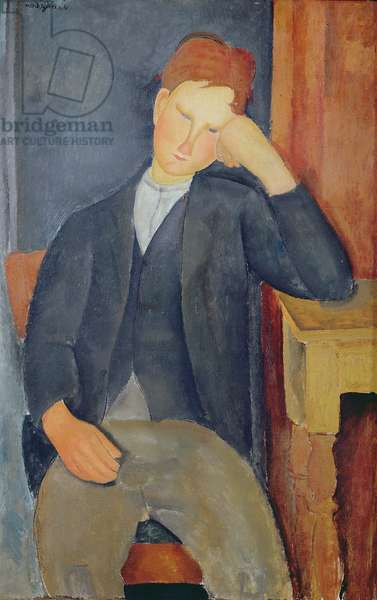The young apprentice, c.1918-19 (oil on canvas)