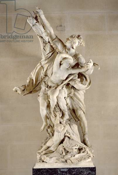 Perseus and Andromeda, 1684 (marble)