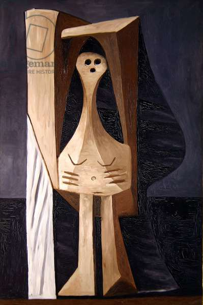 Grande Baigneuse, 1929 (oil on canvas)