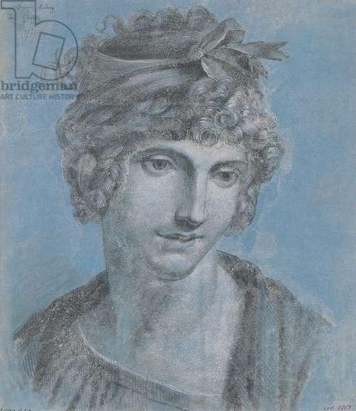 Madame Aubry (1748-93) Olympia of Gouges, 1784 (aquatint)