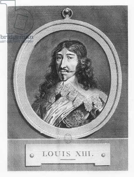 Louis XIII, King of France (engraving)