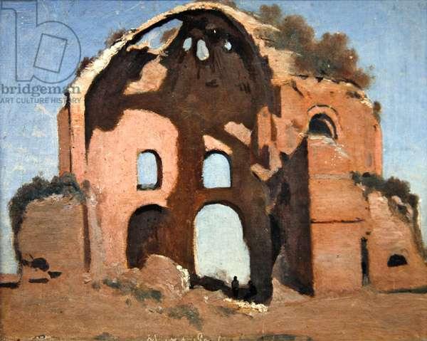 Temple of Minerva Medica, Rome (oil on canvas)
