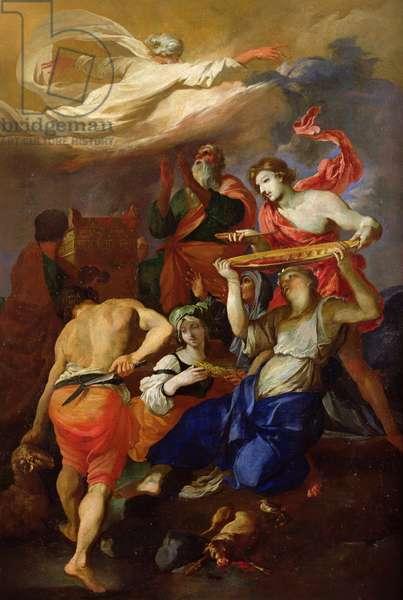 The Sacrifice of Noah (oil on canvas)