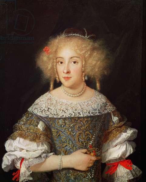 Marguerite Louise d'Orléans (oil on canvas)