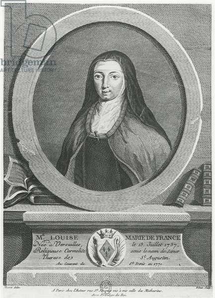 Louise-Marie de France (engraving)