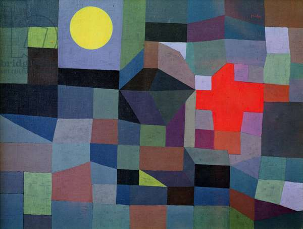 Fire, Full Moon, 1933 (oil on canvas)