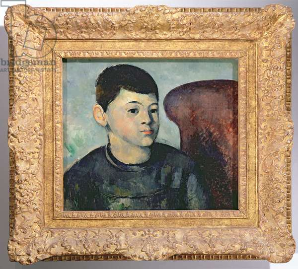 Portrait of the artist's son, 1881-82 (oil on canvas) (also see 394902)