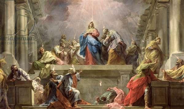 Pentecost, 1732 (oil on canvas)