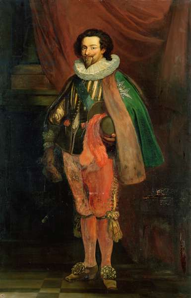 Charles d'Albert (1578-1621) Duke of Luynes, High Constable and Falconer, 1834 (oil on canvas)