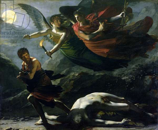 Justice and Divine Vengeance pursuing Crime, 1808 (oil on canvas)