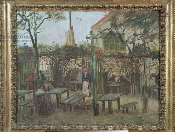 Pleasure Gardens at Montmartre, 1886 (oil on canvas)