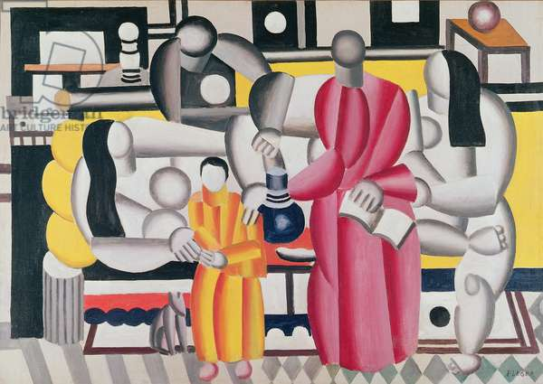 Women in an interior, 1922 (oil on canvas)