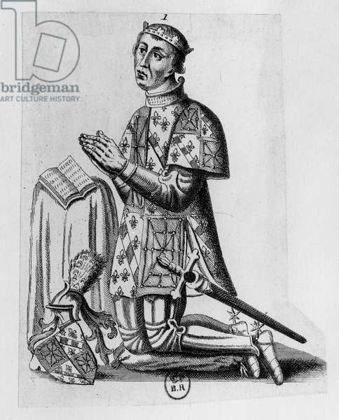 Charles II, the Bad, King of Navarre (engraving)