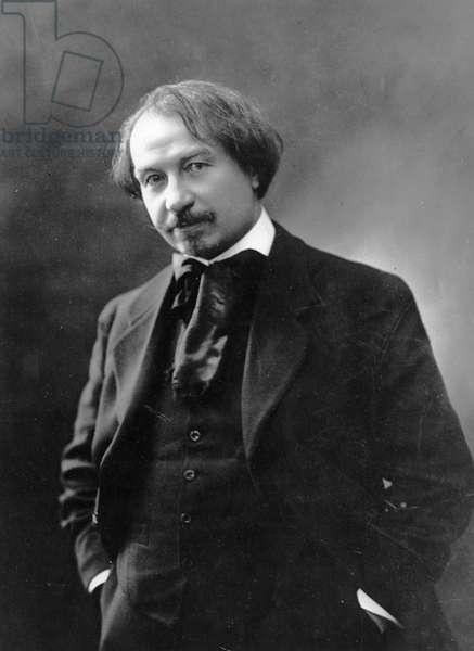 Portrait of Gustave Charpentier (b/w photo)