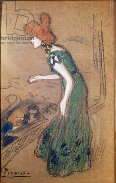 The Diseuse, c.1900-01 (pastel on paper)