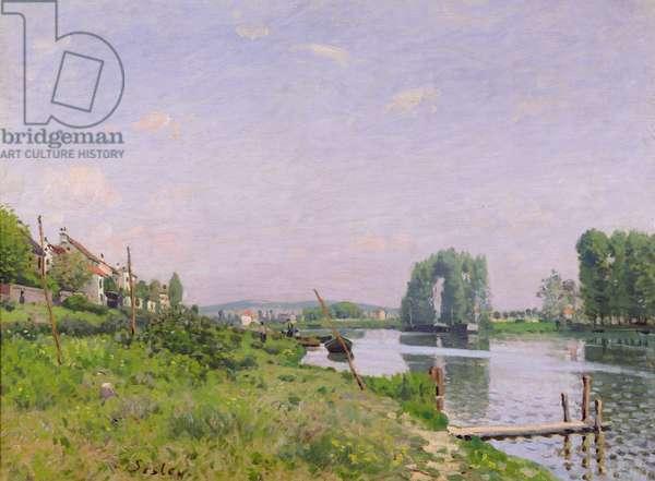 Ile Saint-Denis, 1872 (oil on canvas)