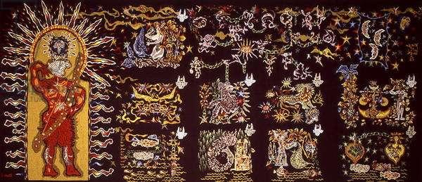 La Poesie, from 'Le Chant du Monde', 1961 (tapestry)