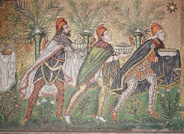 The Three Kings (mosaic) (see also 156997)