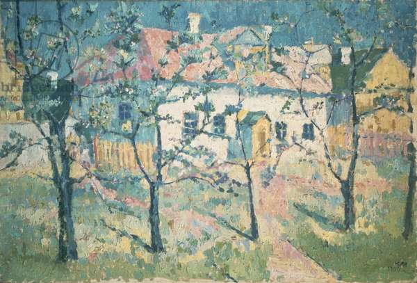 Spring, 1904 (oil on canvas)