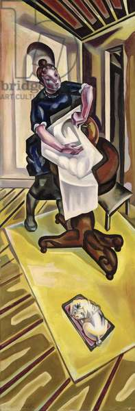 The Washing, before 1921 (oil on canvas)