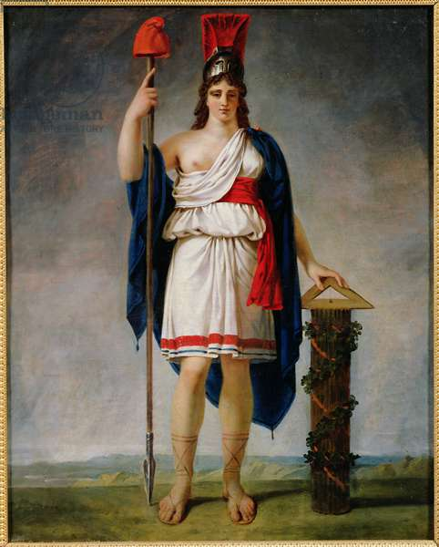 Allegory of the Republic (oil on canvas)